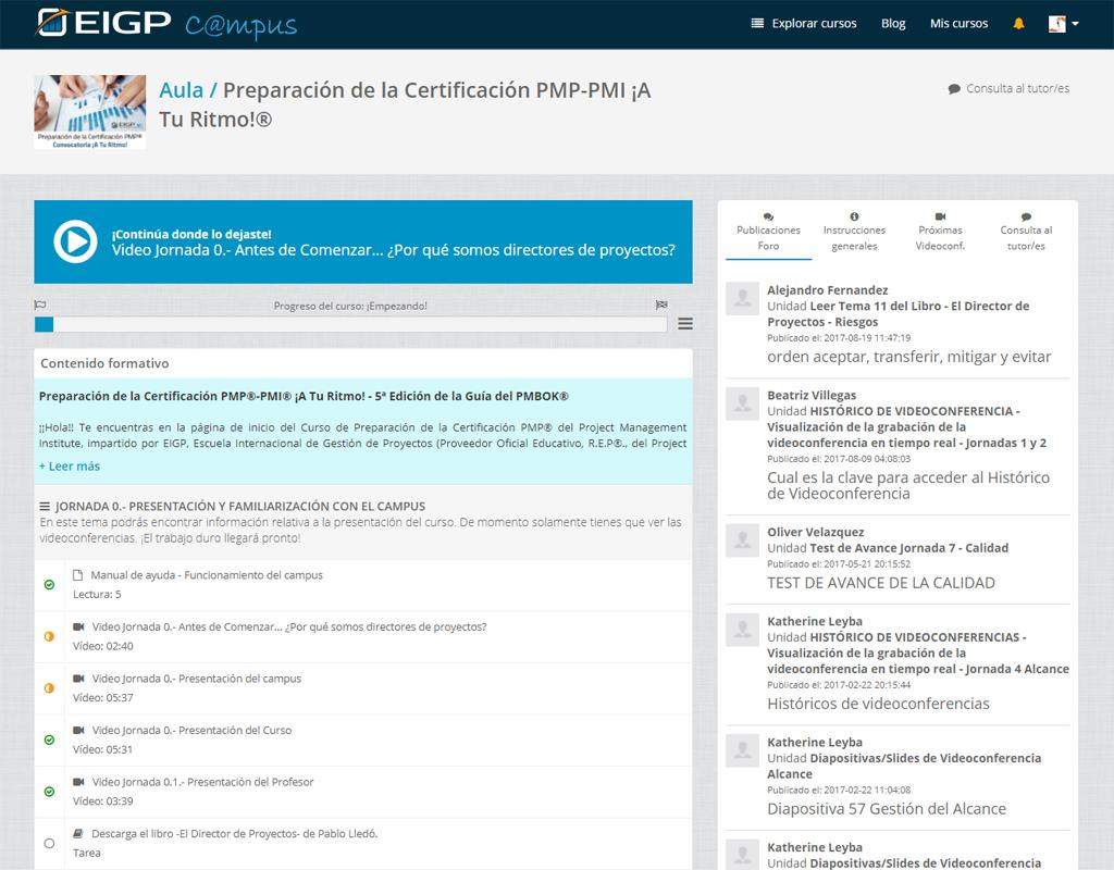 PM Simulador, preparación para el examen de certificación PMP